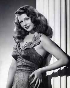 One of my favourite photographs of Rita Hayworth - a still from the film Down To Earth, 1947 as both Terpsichore and Kitty Pendleton Old Hollywood Glamour, Golden Age Of Hollywood, Vintage Glamour, Vintage Hollywood, Hollywood Stars, Vintage Beauty, Classic Hollywood, Classic Actresses, Beautiful Actresses