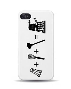 iPhone 4/4S Dalek Equation Dr Who GEEK 3D Phone Case Cover. Thegadgethut.co.uk