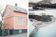 Reykjavik & Blue Lagoon, Iceland Travel Photography - Catherine Mead Destination Wedding and Engagement Session Photographer. Shot on Fuji 400H Contax645 - Medium Format Film Photography.