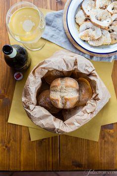 Panino al farro - spelt bread bun