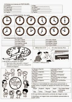 Trabalhar com a 5° série que hoje é o novo 6° ano não é uma tarefa fácil, pensando nisso o E D U C A R  X  trás atividades de inglês 6° ano ...