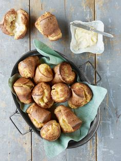Cheddar Popovers Recipe - Country Living