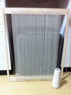 手作り織り機