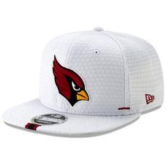size 40 b90cc a2a5c Men s Arizona Cardinals New Era White 2019 NFL Training Camp Original Fit  9FIFTY Adjustable Snapback Hat