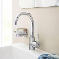 Grohe Concetto Swivel Spout Basin Mixer with Pop-up Waste - 32629001 Profile Image