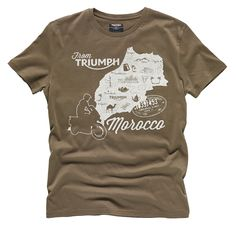 TEE MAP OF MORROCCO