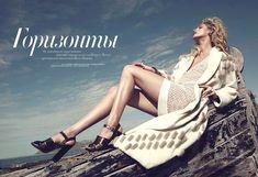 juju ivanyuk model2 Juju Ivanyuk Poses for Federica Putelli in Harpers Bazaar Ukraine Shoot