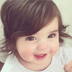 baby, smile, and kids image So Cute Baby, Cute Little Baby Girl, Cute Baby Girl Pictures, Pretty Baby, Little Babies, Baby Photos, Baby Love, Cute Kids, Baby Girl Wallpaper