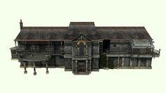 Spencer Mansion TEXTURIZED by ~AlexSlevin on deviantART
