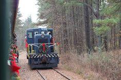 New Hope Valley Railway Santa Train #NewHill