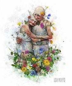 Størst av alt er kjærligheten. Dream Art, New Love, Children's Book Illustration, Childrens Books, Illustrators, Cardmaking, Lisa, Images, Drawings