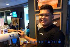 Our baristas love Jesus @TheCupofFaith #TheCupOfFaith #CoffeeShop #Philippines #Philippine #Barista #Christian #Coffee #Pasig #Manila