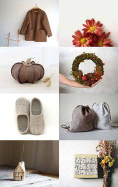shades of autumn by ms blue on Etsy--Pinned with TreasuryPin.com