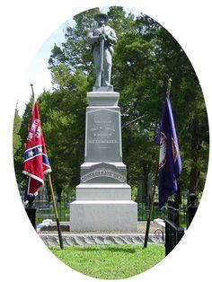 suffolk, va cedar hill cemetery | Confederate Monument in Cedar Hill Cemetery, Suffolk, VA. Erected by ...