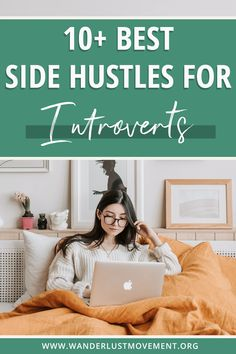 Want to start making money online from home - but want to keep your people interaction to a minimum? Here are 10  of the best side hustles for introverts! Choose from options like becoming a virtual assistant, starting a blog, freelance writing and more! Start your side hustle today! #sidehustle #introverts #business #remotework #workfromhome Make Money Online, How To Make Money, How To Become, Digital Nomad, Virtual Assistant, Introvert, How To Start A Blog, Hustle, Online Business
