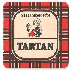 Tartan Vintage Beer Mat