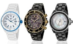 Up to 90% Off Swiss Legend Ceramic Watches