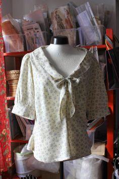 Allures-und-Couture, Schnittmuster Jasmine von Colette