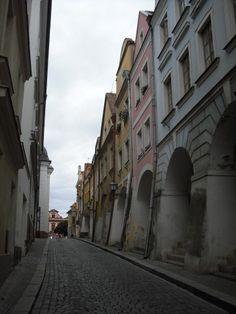 Hradec Králové, ulička k náměstí