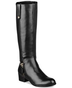 GUESS Tafn Riding Boots - Shoes - Macy's, they fit me perfect In wide calf, they're a staple