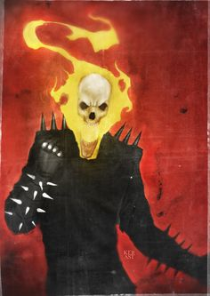 Classic Ghost Rider by Jimmy Kerast
