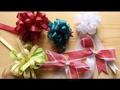 DIY Schleifen Sterne selber machen | Geschenk Deko | Weihnachten & Geburtstag - YouTube