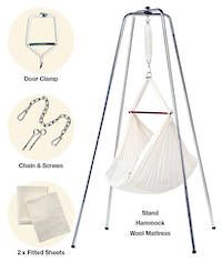 high quality baby hammock made in new zealand diy   baby hammock   no sewing involved  cost    0 00 sice i had a      rh   pinterest