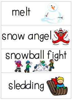 The Snowy Day Freebies!