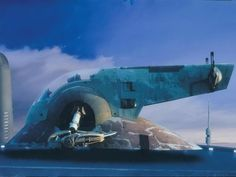 Some of the paintings for Empire Strikes Back and Return Of The Jedi by Ralph Mcquarrie, Michale Pangrazio, and Chris Evans.