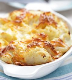 This is one of those family classics, but with a cheesy twist! Serve this delicious side-dish with any roast meat. And do take the time to prepare the B�chamel Sauce, it�s so worth it!