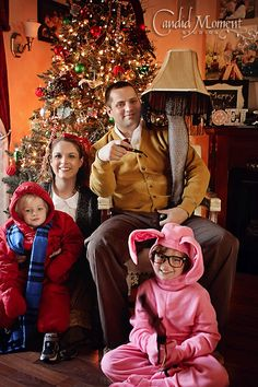 funny christmas card idea love this christmas story idea i have to do this one day - A Christmas Story Decorations