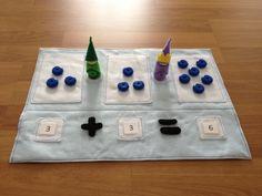 Math Gnome Play Set de SewSmartHome en Etsy https://www.etsy.com/es/listing/215250113/math-gnome-play-set