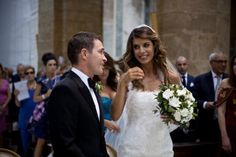 Elisabetta Canalis sposa in Angelozzi Couture