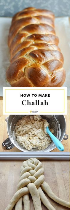 How to Make Homemade Challah Bread. This Step-by-step recipe makes it easy for beginners looking for ideas , projects, and recipes for baking. This is the best recipe for this traditional Jewish sweet bread. Great for holidays and perfect to make into french toast.