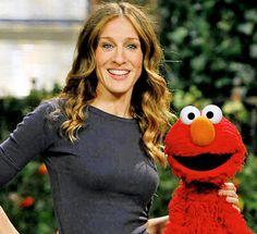 Sarah Jessica Parker & Elmo
