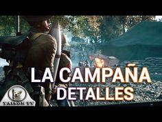 Battlefield 1 Detalles del Modo Historia o Campaña, 7 Episodios y 20 Cap...