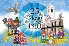 Resultado de imagen para imagenes del 25 de mayo de 1810 para imprimir Jojo's Bizarre Adventure, Jojo Bizarre, Princess Peach, Smurfs, Ideas Para, Macrame, Google, Gardens, Garden Deco