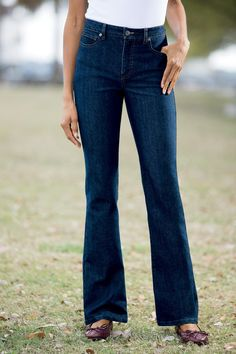 52776ca6783 Introducing our new Bootcut Tummy-control Jeans By Shape Benefits -  available in Misses   Petite sizes!