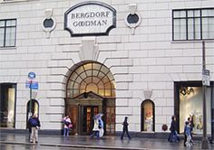 Bergdorf Goodman department store in NYC