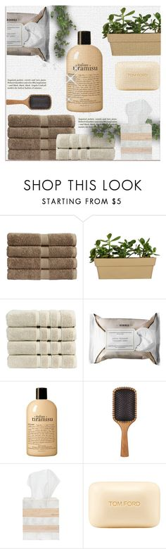 """@"" by lavanda79-1 ❤ liked on Polyvore featuring beauty, Christy, H&M, Korres, philosophy, Aveda, Pigeon & Poodle and Tom Ford"