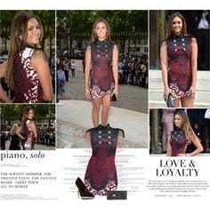 """Nina Dobrev.   Atelier Versace Fashion Show."" by sarahutcherson on Polyvore"