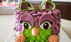 Kericocom: Tarta Furby de fandant