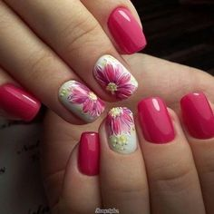 100+Eye Catching Summer Nail Arts That You Will Love – ANAILZING