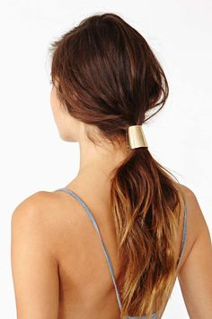 Gold Ponytail Holder