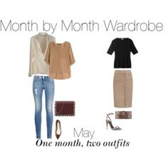 Perfect Month by Month Wardrobe May