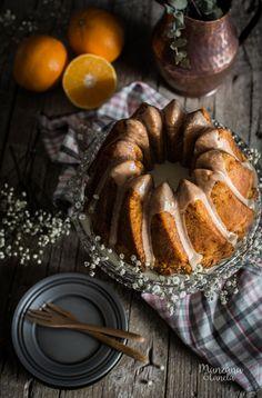 Bunt Cakes, Cupcake Cakes, Bolu Cake, Orange Bundt Cake, Glaze For Cake, Sweet Cooking, Pound Cake Recipes, Amazing Cakes, Delicious Desserts