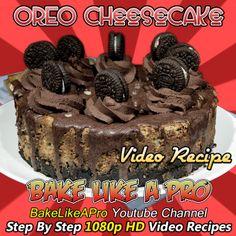 Mini Oreo Cheesecake, Oreo Cheesecake Recipes, My Recipes, Baking Recipes, Ultimate Chocolate Cake, Chocolate Decorations, Best Food Ever, Twitter Twitter, Oreo Cookies