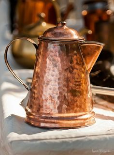 Lovely copper coffee pot