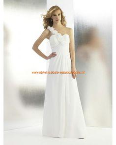 Designe Elegante Brautkleider 2013 aus Chiffon mit Blumen