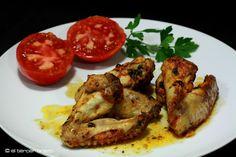 Al horno (estilo tradicional) o con la Thermomix, aquí tienes la receta de alitas de pollo maceradas, para que lo hagas como prefieras... El truco: macerar